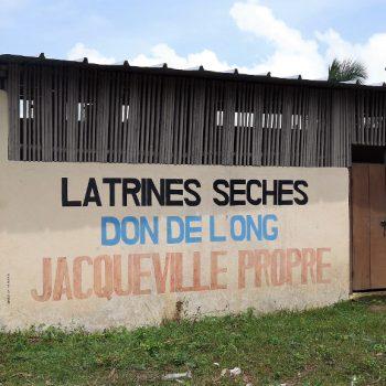 Latrines sèches, Jacqueville