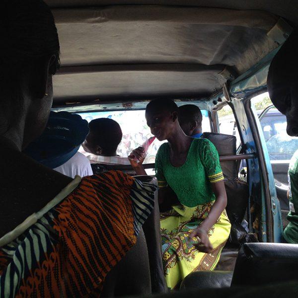 Tro-tro au Ghana