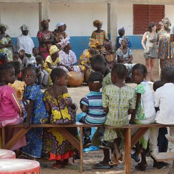 Discours à l'école de Yayem