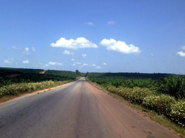 Route, Côte d'Ivoire