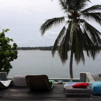 Vue lagune, Côte d'Ivoire