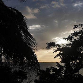Coucher de soleil Aby Côte d'Ivoire lagune