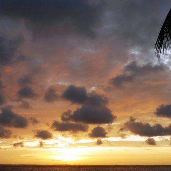 Coucher de soleil, Côte d'Ivoire