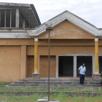Hôtel en construction à Aby Côte d'Ivoire