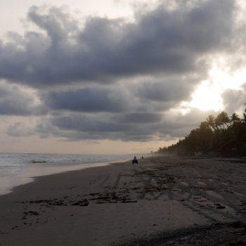Quad sur la plage, Côte d'Ivoire
