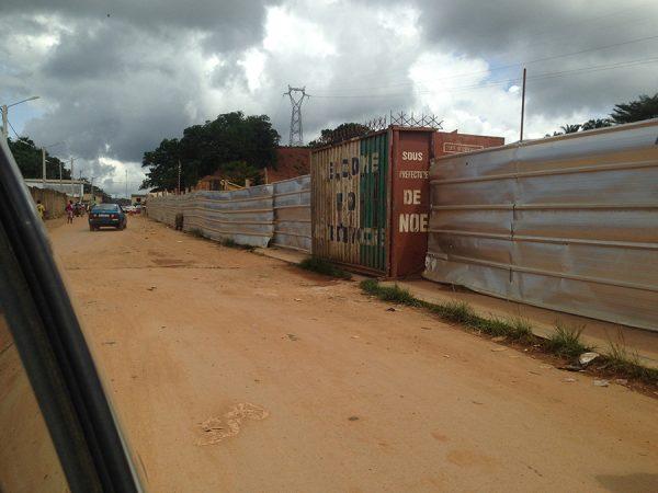 Frontière Côte d'Ivoire Ghana
