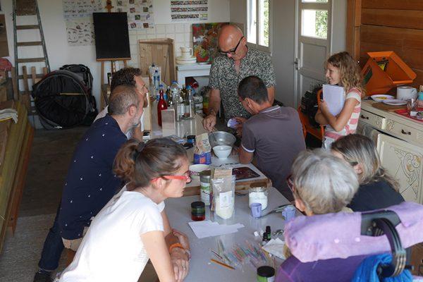 Atelier transition écologique jardin permaculture
