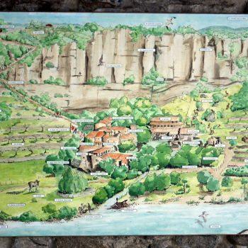 Ardèche, Viel Audon, Carte