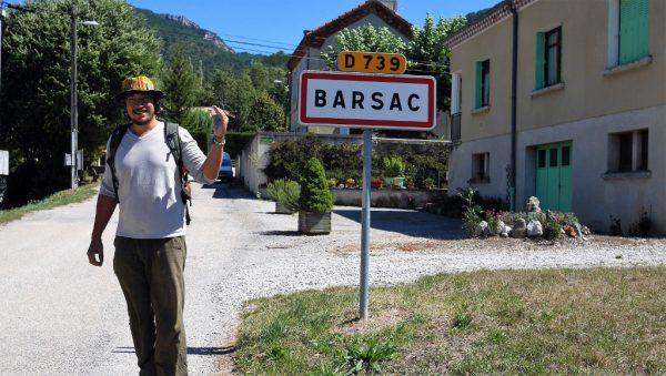 Drome, Barsac, Panneau