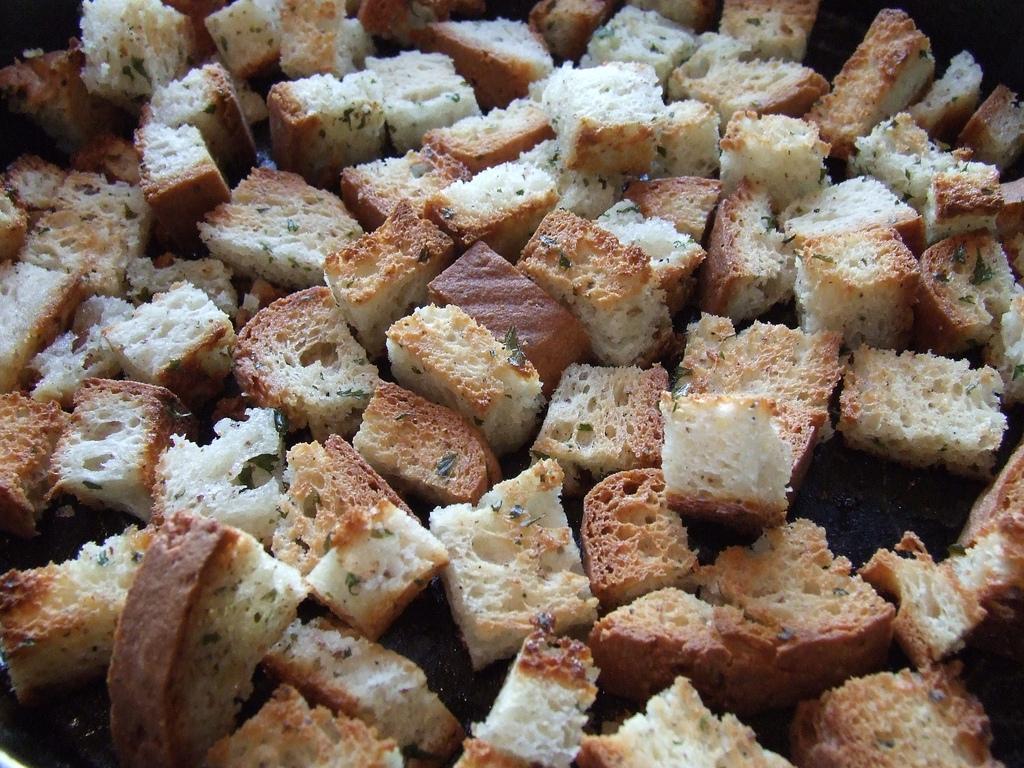 Croutons sans gluten
