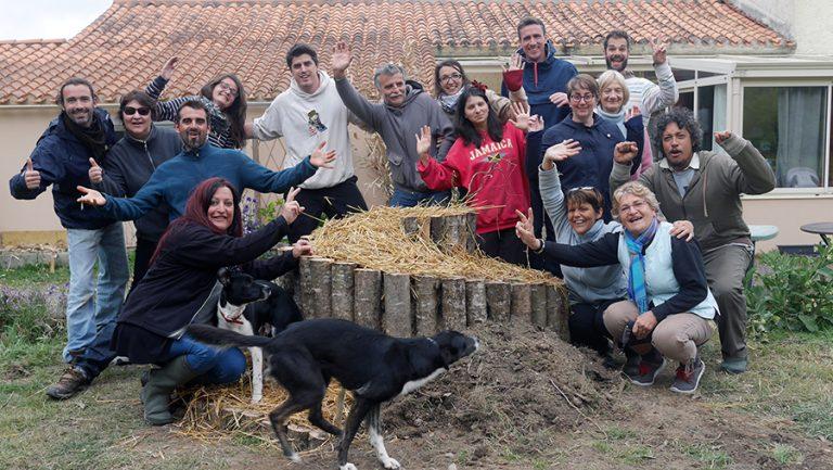 permaculture stage chantier participatif oasis