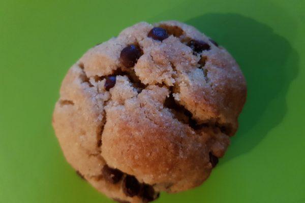 Cookie sans gluten sans lactose